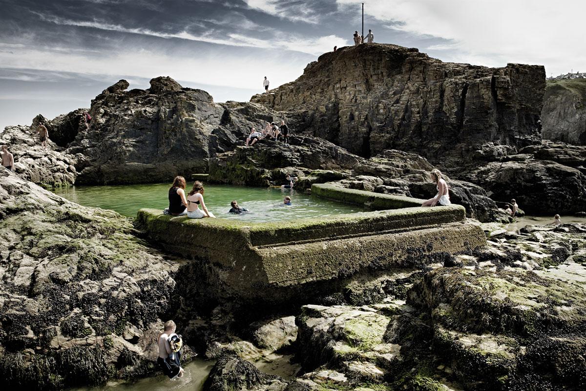 © Pim Vuik - England, Perranporth, Chapel Rock Pool