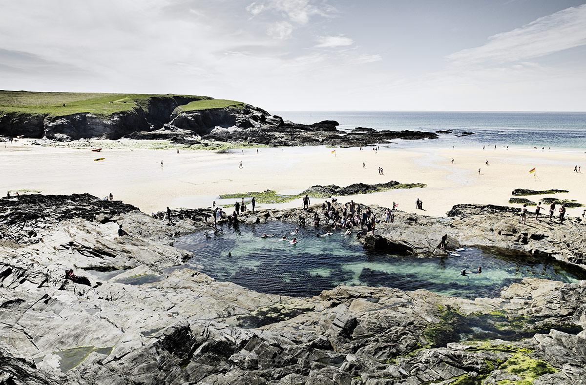 © Pim Vuik - England, Treyarnon, Treyarnon Rock Pool